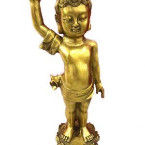 Tượng Phật chỉ thiên cao 40cm mã T15