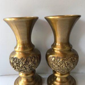 Đôi phình cúc vàng sẫm cao 29cm mã L10