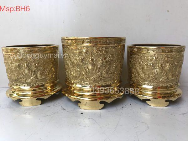 Bát hương vàng mã BH6