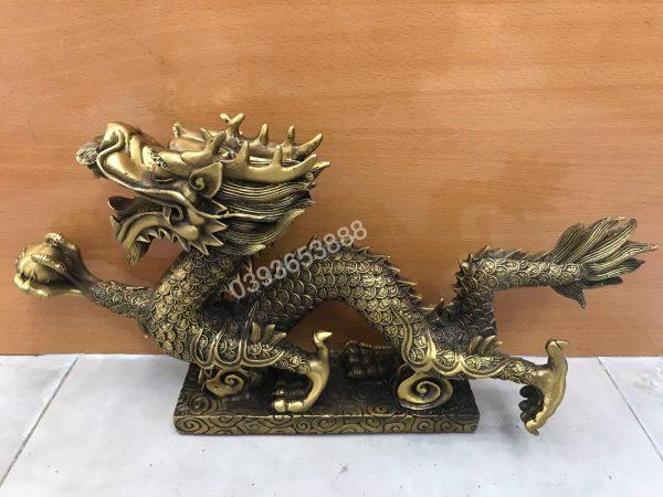 Rồng cầm ngọc cao 13cm mã G15