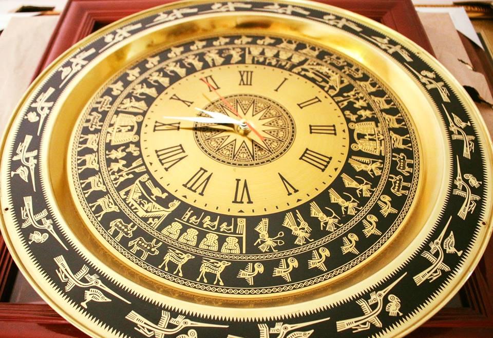 Đồng hồ la mã bằng đồng đẳng cấp sang trọng