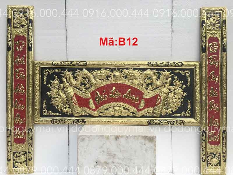 Đại tự câu đối chữ việt dài 135cm đến 197cm