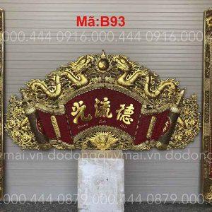 Cuốn thư câu đối dát vàng non dài 135cm đến 197cm