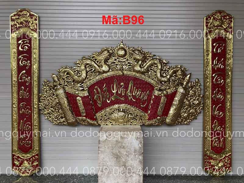 Cuốn thư câu đối phẳng Phẳng dài 135cm đến 197cm