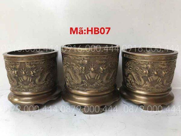 Bộ 3 bát hương hun đủ kích thước 12cm đến 35cm